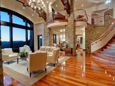 There are various design trends to pick from in regards to ideas for living room dAcor. Regardless of what style design your house is, there are various living room decorating ideas to select from. Style At Home, Glam Living Room, Living Rooms, Family Rooms, Dream Rooms, House Rooms, Luxury Living, Luxury Real Estate, My Dream Home