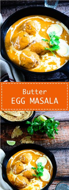 Egg Butter Masala or eggs in a  creamy Buttery gravy is a favourite Indian curry which goes very well with any Indian bread. Food photography and styling by Neha Mathur