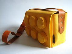 Awesome: Giant Lego Block bag, the fashion of childhood dreams. Lego, Fashion, Bags 0