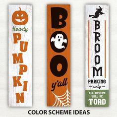 Halloween Wood Signs, Halloween Wood Crafts, Halloween Porch Decorations, Homemade Halloween, Outdoor Halloween, Fall Crafts, Fall Halloween, Halloween Wreaths, Halloween 2020