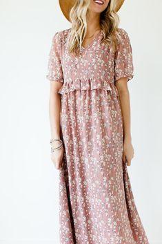 Monticello Floral Maxi Dress