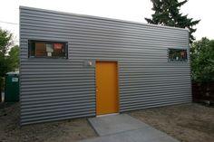 corrugated metal siding - Google Search