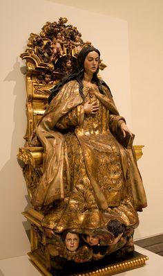 Virgen Comendadora de la Merced - Arte mariano - Wikipedia, la enciclopedia libre