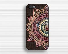 half of flower caseIPhone 4s casecool flower by case7style on Etsy, $9.99