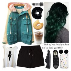 """don't worry if you're not sure"" by music667 ❤ liked on Polyvore featuring &nd B, Wildfox, Converse, CHESTERFIELD, Sharpie, Nintendo and AeraVida"