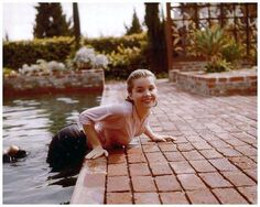 Tuesday Weld--decaying hollywood mansion's