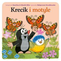 Krecik i motyle Strzałkowska Małgorzata Bajka.Księgarnia internetowa Czytam.pl