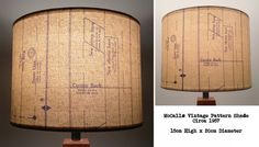 Vintage Industrial Lamp Shades CLEARANCE SALE items, Upcycled by Patturn