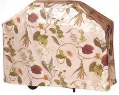 Make your own grill cover using your choice of fabric sandwiched between two layers of vinyl.