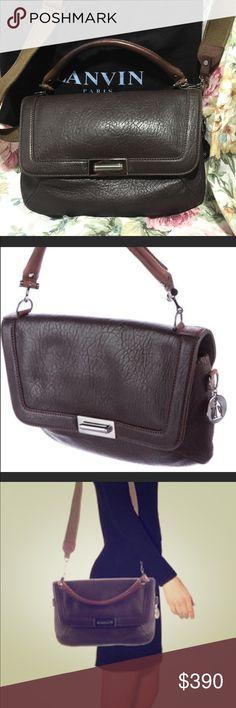 Authentic Brown Lanvin Satchel So Beautiful!! Leather Lanvin Satchel.. Make me an offer!! Lanvin Bags Satchels