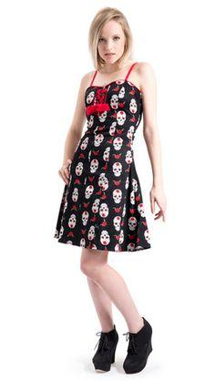 Muerte Skater Dress