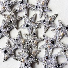 Work in progress... #star #silverstar #earrings #handmadebrooch #handmadejewelry #beadedstar #starjewelry #uniquejewelry #uniquegift #fashionstyle #fashiondetails #beadembroideredjewelry #zefirinastudio #embroideryart #fashionembroidery #ukrainiandesigner #jewelrycollection #stars #silverjewelry #coutureembroidery #couturejewelry #parisian #tokyofashion #toronto #oslofashion #amsterdam #berlinfashion