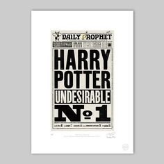 The Daily Prophet™ - Undesirable Number 1 - Premium