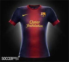 Barcelona Launch Nike 2012 13 Home   Away Replica Camisas De Futebol 90255fca9ae84