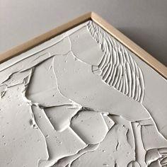 Paintings – Page 2 – Ninos Studio Art Texture, Texture Painting, White Texture, Painting Inspiration, Art Inspo, Gesso Art, Cuadros Diy, Frida Art, Plaster Art
