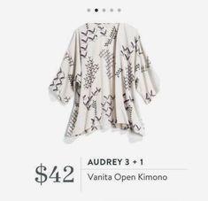 Styling Stitch Fix for Fall Stitch Fix Audrey 3 + 1 vanita open kimono Stitch Fix Kids, Stitch Fix Fall, Stitch Fix Dress, Stitch Fix Outfits, Stylish Summer Outfits, Cute Outfits, September Stitch Fix, Kimono Fashion, Fashion Outfits