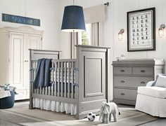 64 Blue Nursery Ideas - Style Estate -