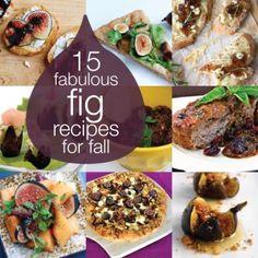 15 Fabulous Fall Fig Recipes