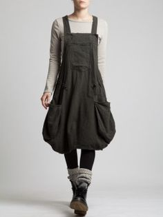FLANNEL OVERALLS/dress