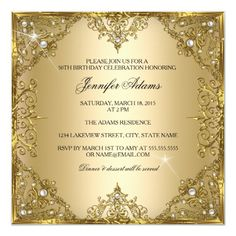 Shop 50 Fabulous Gold Pearl Bow Birthday Invitation created by Zizzago. Personalize it with photos & text or purchase as is! Quince Invitations, 50th Birthday Party Invitations, Elegant Birthday Party, Elegant Invitations, Custom Invitations, 50th Party, Invites, Ritz Crackers, Moms 50th Birthday