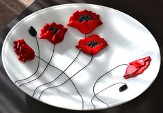 DSC_0001 | Poppy Bowl - completed May 2014 | Niven Glass Originals | Flickr