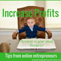 Tips from entrepreneurs. Reinvest in your online business to boost profits. Creating A Business, Home Based Business, Business Tips, Online Business, Online Entrepreneur, Business Entrepreneur, Business Marketing, Content Marketing Strategy, Business Technology