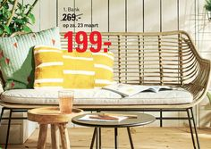 Bank Mason - Reclamefolder.nl Outdoor Chairs, Outdoor Furniture, Outdoor Decor, Home Decor, Decoration Home, Room Decor, Garden Chairs, Interior Decorating, Outdoor Furniture Sets