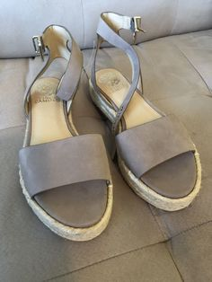 ad1e0ef2acbdae NWT Vince Camuto Kathalia Espadrille Ankle Strap Sandals Dusty Mink Sz 7.5   110  fashion  clothing  shoes  accessories  womensshoes  sandals (ebay  link)