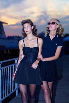 Vogue Paris, décembre 2011/janvier 2012 http://www.vogue.fr/mode/inspirations/diaporama/la-petite-robe-noire-1/9555/image/569776#7