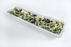 Rucolastamppot met taggiasche olijven.