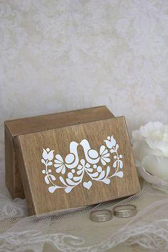 Krabička na prstienky Folk