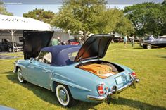 1959 Mercedes-Benz #190SL. Carmel-By-The-Sea Concours on the Avenue (picture credit: Conceptcarz.com). If you like Mercedes Benz 190 SL's please visit us on Facebook at https://www.facebook.com/190SL
