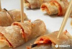Paradicsomos-mozzarellás vendégváró Mozzarella, Dairy, Cheese, Food, Essen, Meals, Yemek, Eten