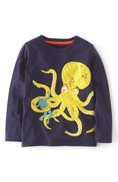 Mini Boden 'Action' Long Sleeve T-Shirt (Little Boys & Big Boys) available at #Nordstrom