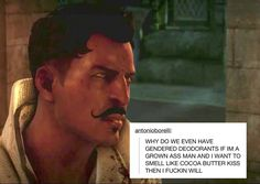 Dorian's not down with your gender norms.