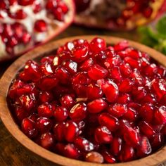 Pomegranate Seeds Keep You From Overeating, boost your immunity, & offer healthy heart support. sprinkled on a cup of oatmeal, quinoa, or Greek yogurt. Create a pom sauce. Top your veggies. Drink the juice.