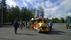 City train Potnapekka in Nallikari