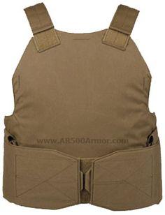 AR500 Armor Concealment Carrier