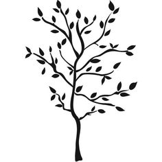 Universal Lighting and Decor Tree Branches Peel and Stick Wall Decal... (388.310 IDR) ❤ liked on Polyvore featuring home, home decor, wall art, backgrounds, decor, extra, silhouette wall decals, peel and stick wall art, black wall decals and wall decals