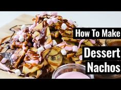 Here's How You Make Loaded Cookie Dough Nachos