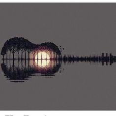 Image about guitar in art by Discovered by Alecsandra Ali. Find images and videos about guitar music and gif on We Heart It - the app to get lost in what you love. Cool Photos, Beautiful Pictures, Trees Beautiful, Simple Pictures, Beautiful Sunset, Simply Beautiful, Beautiful Things, Guitar Art, Guitar Tattoo