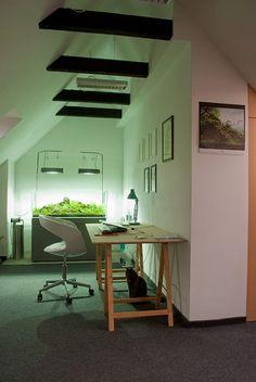 Modernes 2-Etagen-Apartment in Polen – mintgrüne Wände