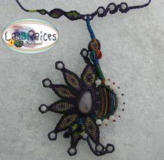 Collar Macrame, Macrame Necklace, Macrame Jewelry, Washer Necklace, 3c, Clay Ideas, Shopping, Polymer Clay, Menu
