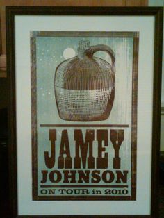 Jamey Johnson tour poster