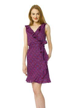 Pink Pointillism Mini Florence Dress
