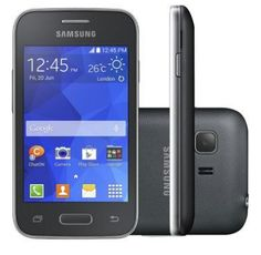 Smartphone Samsung Galaxy Young 2 Duos Pro Preto G130BU Android 4.4 Internet 3G Wi-Fi