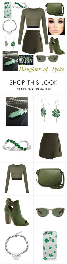 """""""Cabin 19- Daughter of Tyche//Casual"""" by tessahaggui ❤ liked on Polyvore featuring Bling Jewelry, Chicwish, Angela Roi, Bella Marie, Burberry, Pink Box, Casetify, Trademark Fine Art, percyjackson and pjo"""