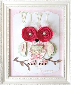 OWL Love You Forever....Nursery Art, starting at $5.