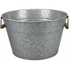 So I found this in my parents garage...perfect for beers. Thank you dad for your excessive shopping <3 Better Homes and Gardens Ice Bucket - Walmart.com