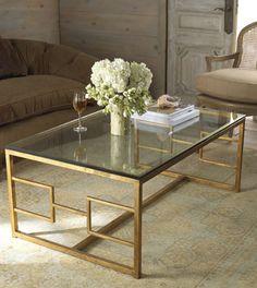 uttermost quatrefoil gold coffee table | best accent furniture ideas